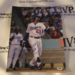 Authentic Autographed Adrian Gonzalez L.A. Dodgers Photo