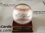 Authentic Andre Ethier Autograph Helmet