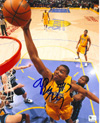 Andrew Bynum Authentic 8x10 Autograph