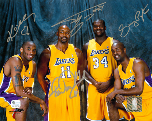 Kobe Bryant, Karl Malone Shaquille O'Neal, Gary Payton
