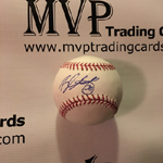 Brandon McCarthy Authentic Autograph Baseball