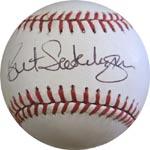 Bret Saberhagen Authentic Autograph Baseball
