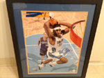 Carmelo Anthony Authentic Autograph 16x20 Framed Photo