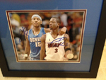 Carmelo Anthony & Dwayne Wade Dual Authentic Autograph 8x10