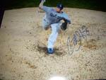Chad Billingsley Autograph 11x14 Photo