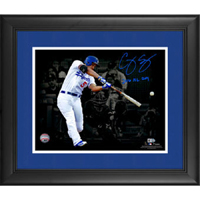 Authentic Corey Seager Autograph 11x14 Photo
