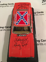 Dukes of Hazzard Authentic Autograph General Lee Car