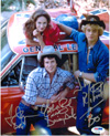 Authentic John Schneider, Tom Wopat & Catherine Bach 8x10 Photo