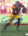 Authentic Dwayne Jarrett 8x10 Autograph