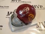 Fili Moala Authentic Autograph USC Mini Helmet