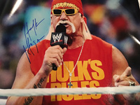 Authentic Hulk Hogan 16x20 Photo