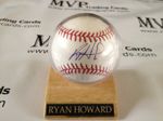 Ryan Howard Authentic Autograph Baseball