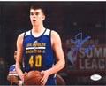 Authentic Ivica Zubac Autograph Photo