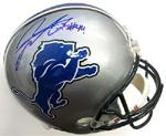 Jahvid Best Authentic Autograph Detroit Lions Mini Helmet