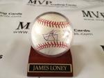James Loney Autograph Baseball