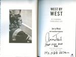 Authentic Jerry West Autograph Book