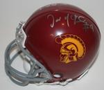 Joe McKnight Authentic Autograph USC Mini Helmet