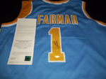 Authentic Jordan Farmar Autograph Jersey