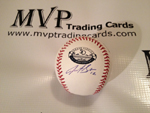 Justin Sellers Authentic Autograph 50th Anniversary MLB Basebll