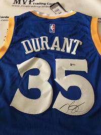 Kevin Durant Autograph Jersey