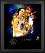 Klay Thompson Authentic Autograph 20x25 Photo