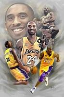 Kobe Bryant 20x25 Canvas