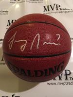 Authentic Larry Nance, Jr Autograph Basketball