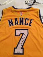 Authentic Larry Nance, Jr Autograph Jersey