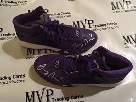 Authentic Larry Nance, Jr Autograph Adidas Shoes