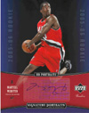 Authentic Martell Webster Rookie Autograph 8x10 Photo