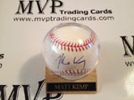 Matt Kemp Authentic Autograph Baseball
