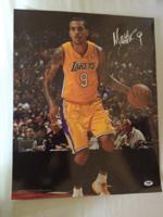 Matt Barnes Authentic Autograph 16x20 Photo