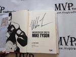Mike Tyson Authentic Autograph Book