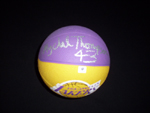 Mycal Thompson Authentic Autograph Mini Basketball