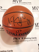Authentic Nick Young Autograph Spalding Basketball