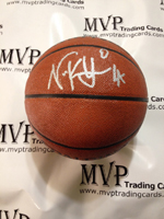 Authentic Nick Young Autograph I/O Spalding Basketball
