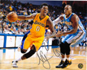 Authentic Nick Young Autograph Los Angeles Lakers 8x10 Photo