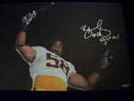 Rey Maualuga Authentic Autograph 20x13 Canvas