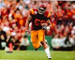 Rey Maualuga Authentic Autograph 8x10 Photo