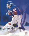 Rodney Hampton Authentic Autograph 8x10