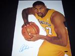 Ron Artest Authentic Autograph 16x20 Photo
