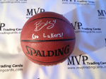 Ryan Kelly Authentic Autograph Spalding Basketball