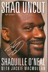 Shaquille O'Neal Authentic Autograph Book
