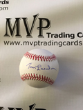 Tom Lasorda Authentic Autograph Official Baseball